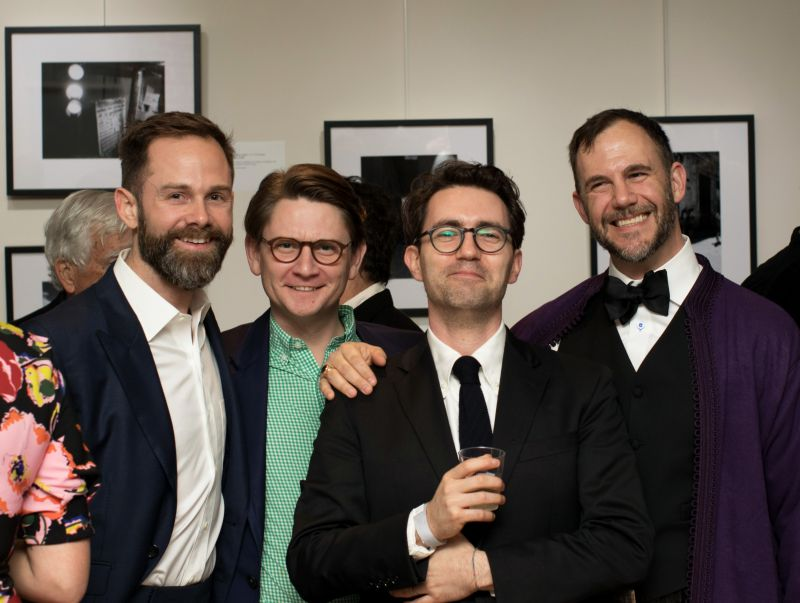 Thomas McCutchen, Paul Saylors, Josh Nissenboim, and Cator Sparks