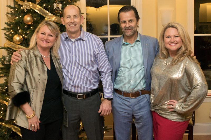 Paige Crone, Dr. David Marshall, Dr. Gustavo Leone, and Ashley Cashon