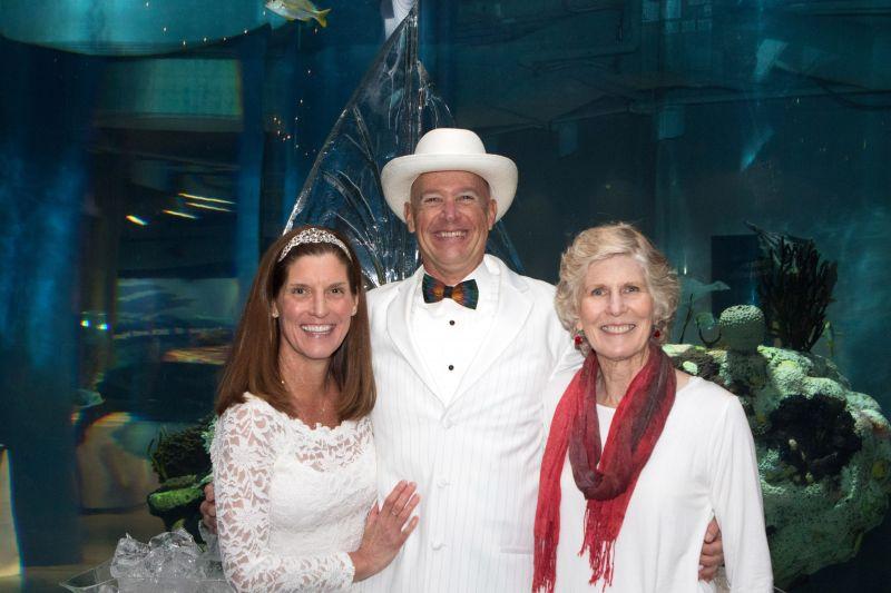 Kathy McKee, Jamie McKee, and Marilyn Reap