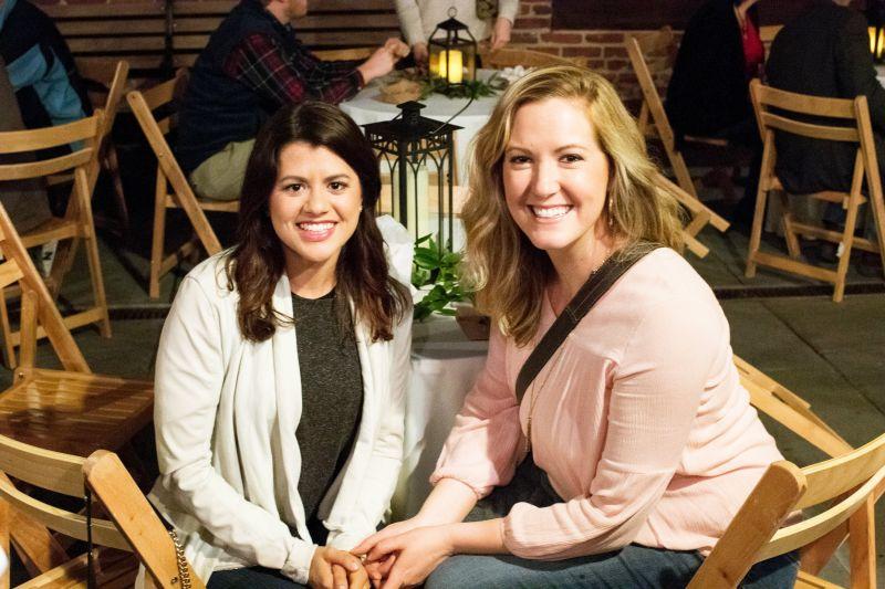 ABC News 4's Erica Scripa and Emily Gracey