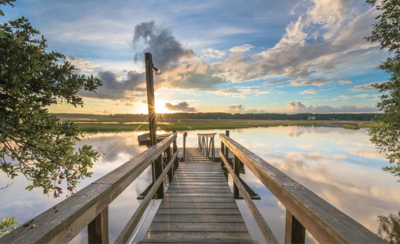 This Old Dock: A secluded spot on the Wando River in Awendaw