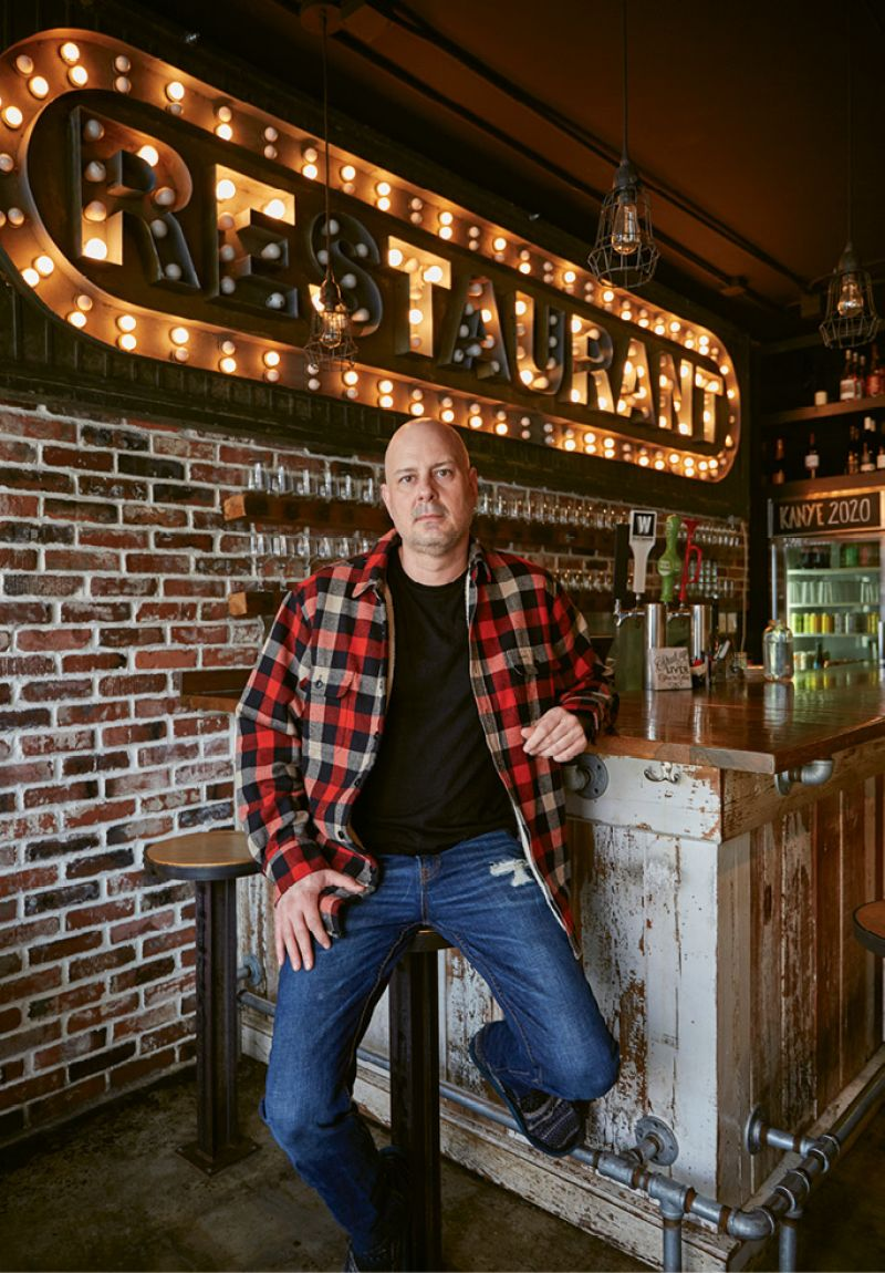 Lead Locavore: Chef Tres Jackson mixes homegrown ingredients with global flavors at Sorghum & Salt.