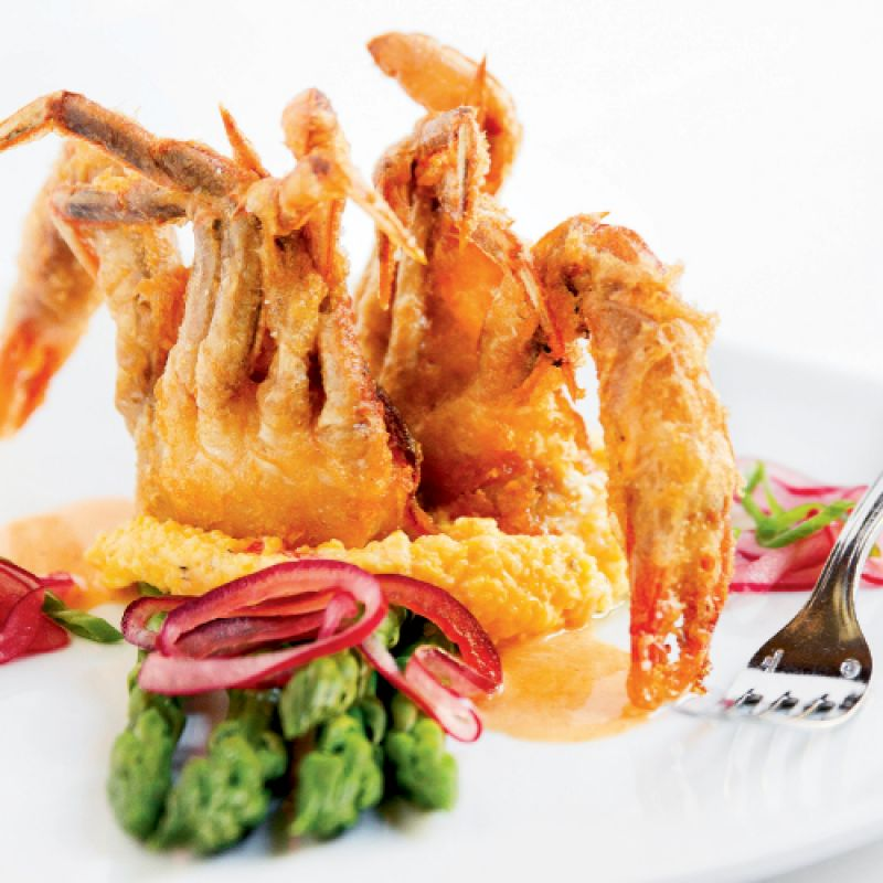 Charleston Sc Crispy Buttermilk Soft Shell Crab With