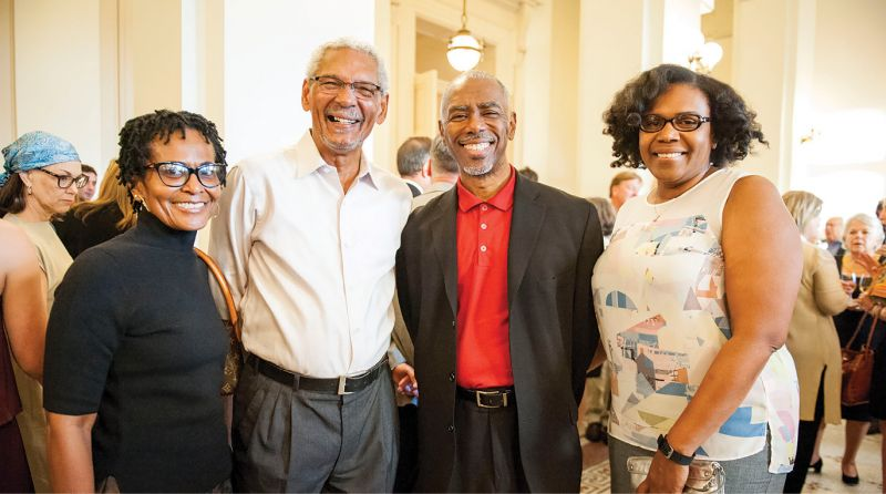 Darlene Scott, Nathaniel Scurry, Milton Armstrong, and Lewann Harper-Armstrong