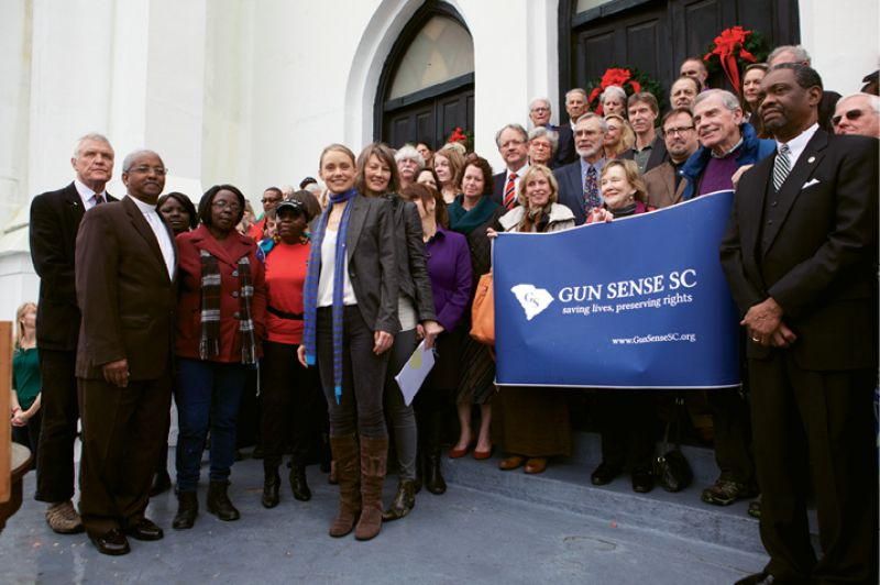 Taking Aim: The Emanuel shootings helped coalesce citizens disturbed by the epidemic of gun violence, and the nonprofit advocacy group Gun Sense SC resulted.
