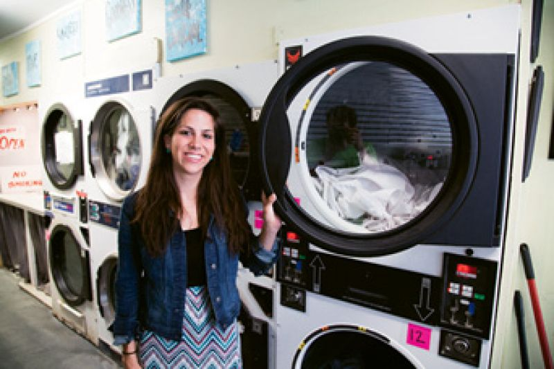 Laundry Matters is the only laundromat on Charleston's East Side. Photograph by Michael Powell