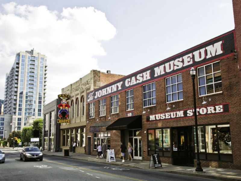 The Johnny Cash Museum is one of Nashville's newest music attractions.