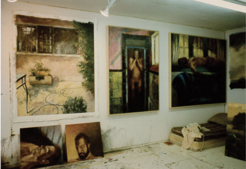 A range of works in her King Street space in 1986