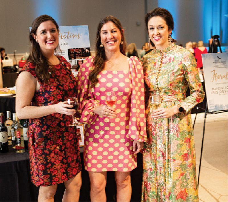 Caitlin Maguire, Tara Mahoney, and Lesley Firestone