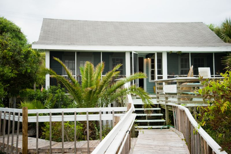 Our location: Avocet Properties' Bimini house rental on front beach Folly