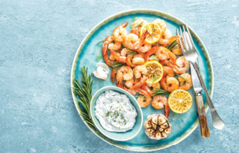 """Kitchen Confession: """"If asked, 'What's for dinner?' I usually answer, 'Reservations.' Shrimp tastes better when someone else is cooking."""""""