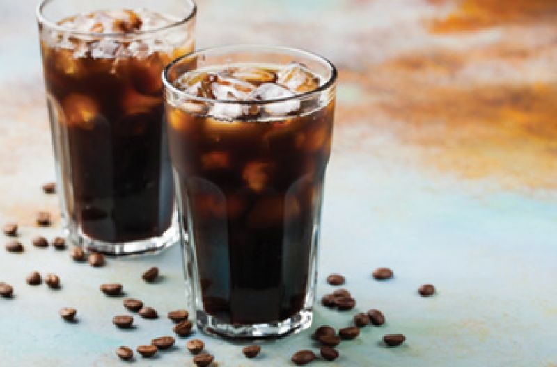 "Caffeine Fiend: ""Iced coffee, black, is my lifeline. My favorite stops are Metto Coffee & Tea and Ra Coffee Company."""