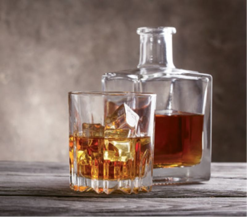 """On his wish list: """"I'd like some type of small-batch booze for Christmas, like a really rare Bourbon."""""""