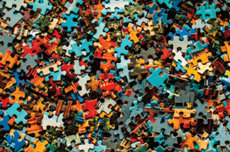 """Quarantine Self-care: """"I'm really into jigsaw puzzles. I have one on my kitchen table constantly; it's 1,000 pieces or more."""""""