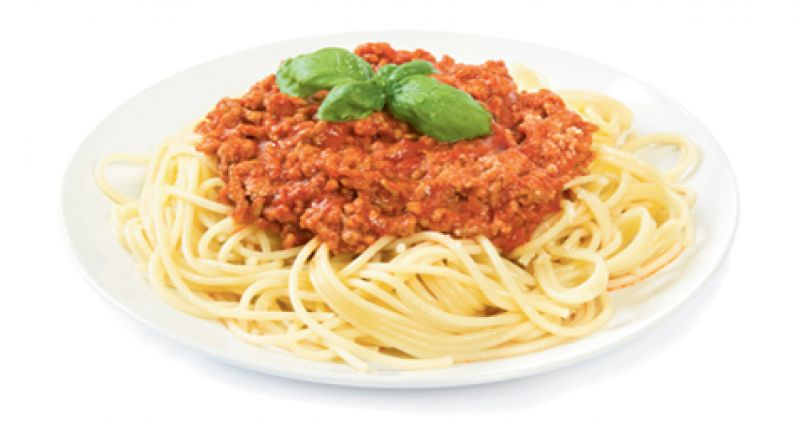 """Cold Remedy: """"In the wintertime, I crave something comforting and warm, like Bolognese sauce."""""""