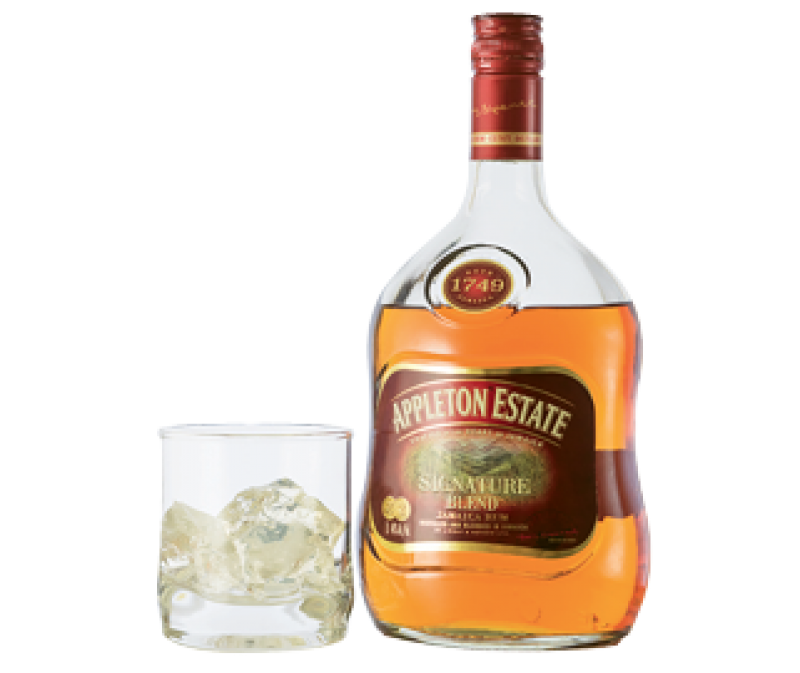 """Perfect Pair: """"Pop a piece of chocolate in your mouth while taking a sip of Appleton Estate Jamaican rum—yum!"""""""