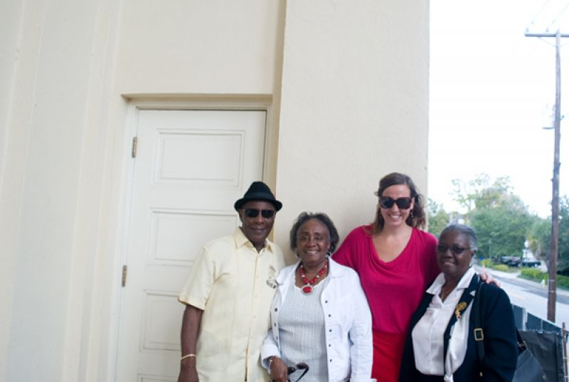 Doris Hamilton, Maya Morrill, Willie and Francena Rogers