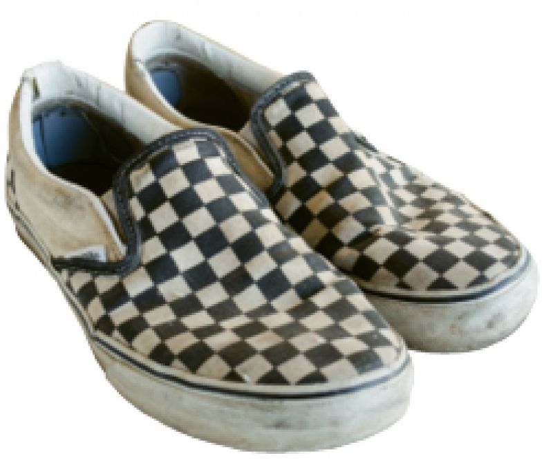 """Casual Style: """"Vans has always been my favorite skateboarding brand. I wear their shoes every day."""""""