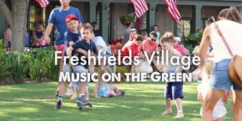 Embedded thumbnail for VIDEO: Freshfields Village: Music on the Green